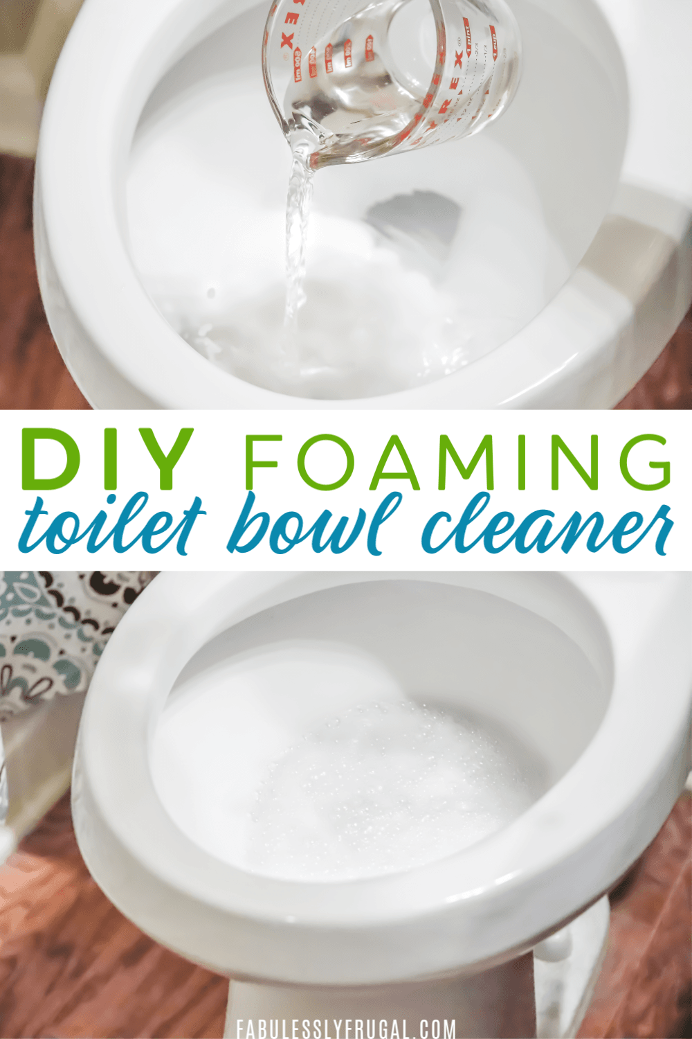 Do It Yourself Foaming Toilet Cleaner! - Fabulessly Frugal ...