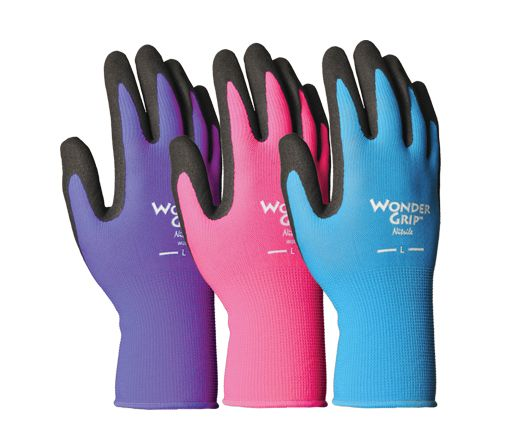 Nicely Nimble Nitrile Palm Gardening Gloves Gardening Outfit