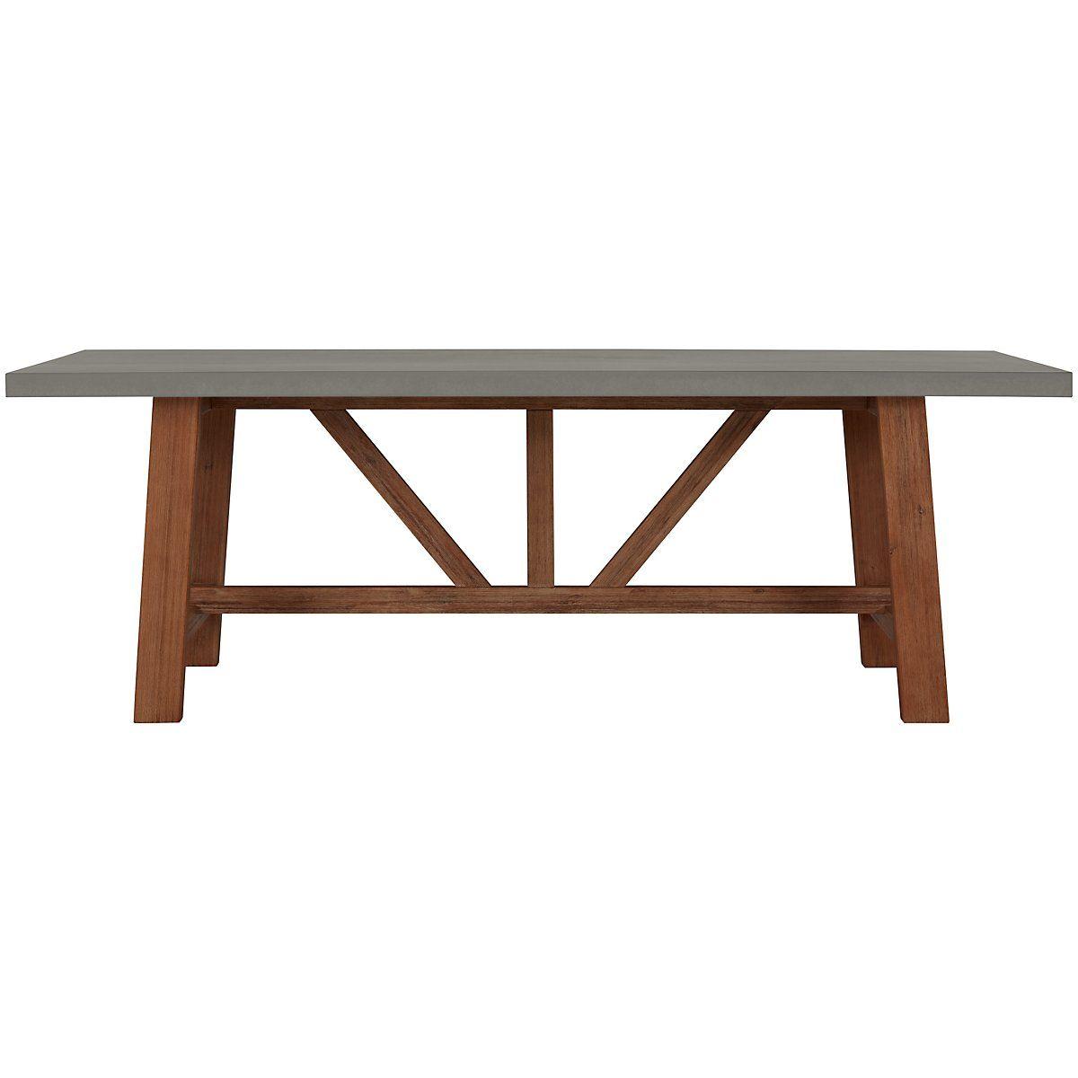 Canyon Concrete Concrete Rectangular Table Rectangular Table