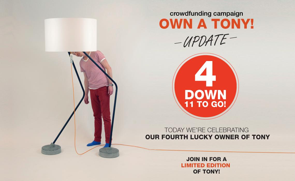Heetman Patijn, dit ontwerpers duo wil met hun Lamp Tony geld binnen halen via crowdfunding. Een video is dan altijd van belang. Ik ontwikkelden het concept, advies social media strategie, complete productie en regie