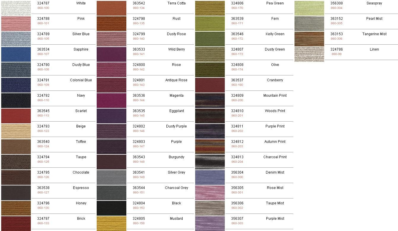 Vannas choice yarn colors google search crochet bee also specific rh pinterest