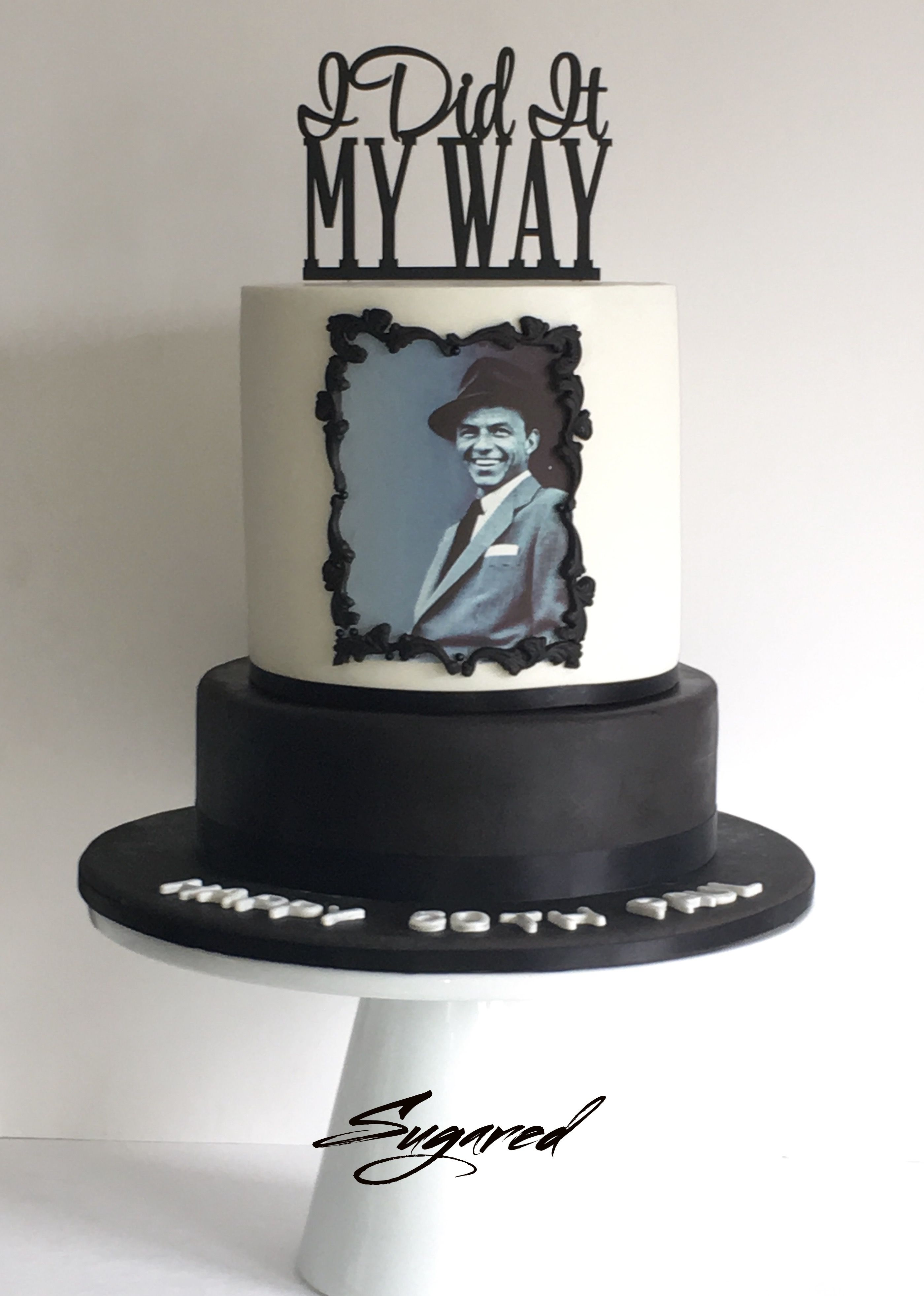 Frank Sinatra Cake Sugared Cookies And Sweets Inc Sugared Cookies
