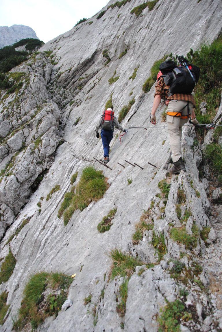 Durch die Hölle und zurück: per Klettersteig auf die Zugspitze
