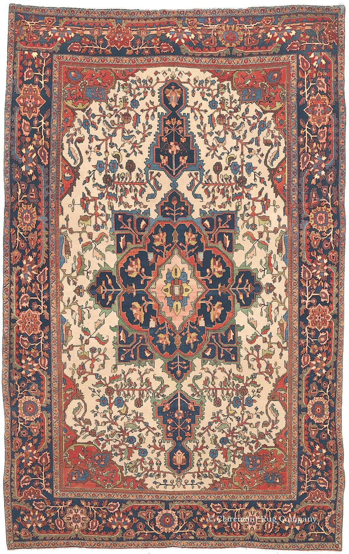 Ferahan Sarouk 6ft 8in X 10ft 6in Circa 1910 Rugs On Carpet Antique Persian Rug Rugs