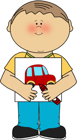 Boy with Coloring Picture  Postacie do opisania  Pinterest
