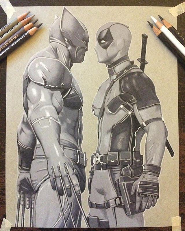 deadpool vs wolverine artist crisphung xmen xforce weaponx