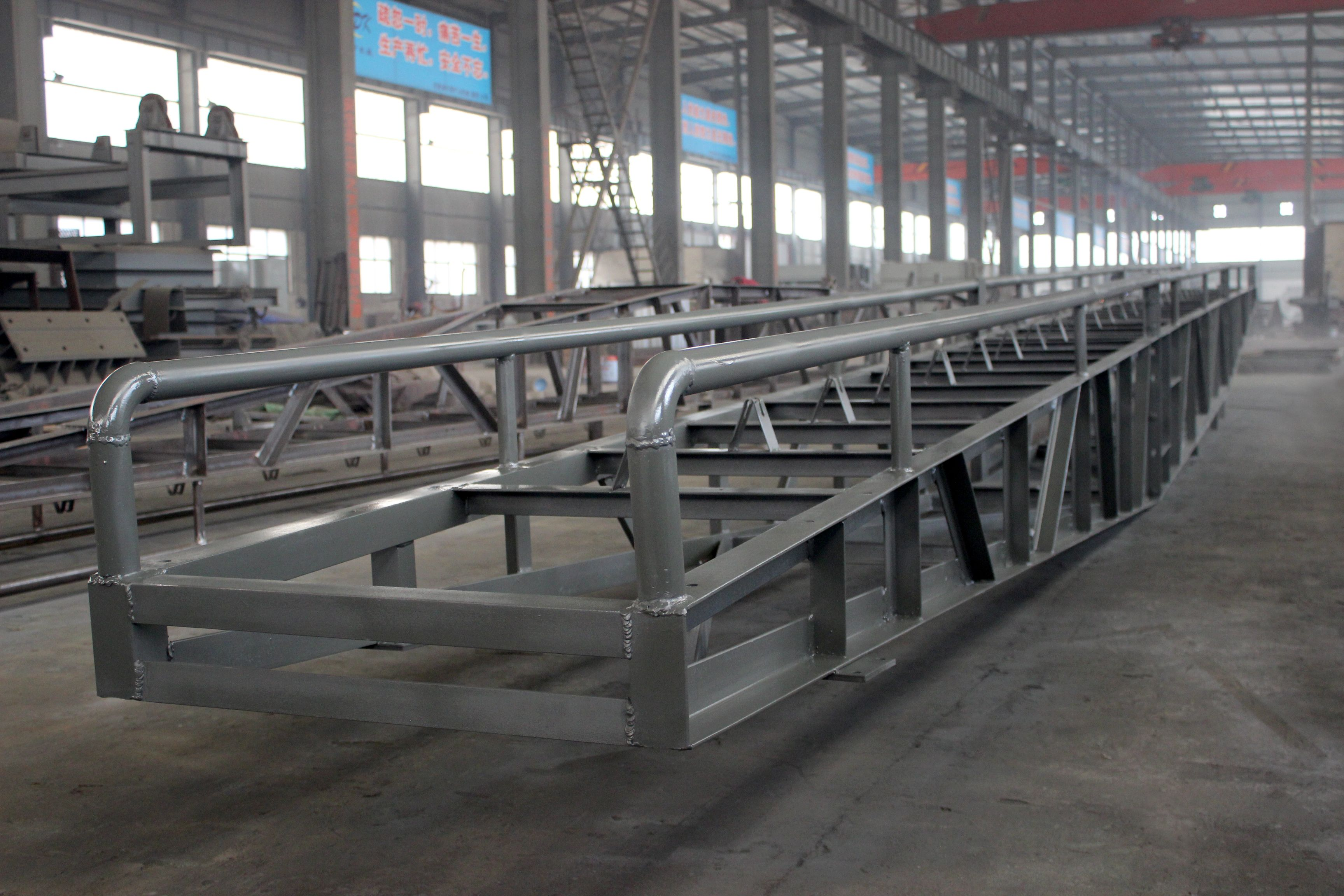 The Frame Of The Portable Belt Conveyor Conveyor Henan Conveyors