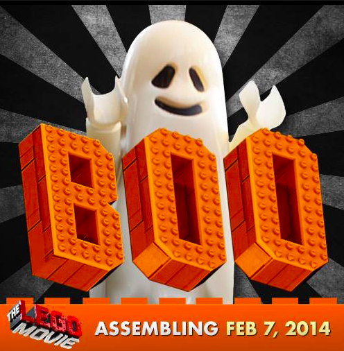 LEGO Ghost wishes you a spooktacular #Halloween!
