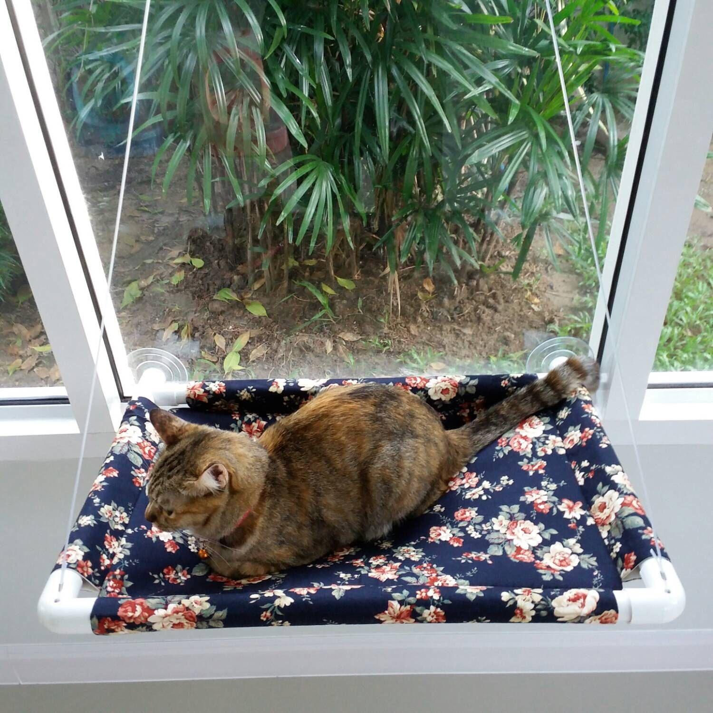 Window bed for cats  window cat bed cat bed cat cot cat hammock cat furniture cat