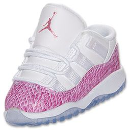 innovative design c1243 b2fb5 Girls' Toddler Air Jordan Retro 11 Low Basketball Shoes ...