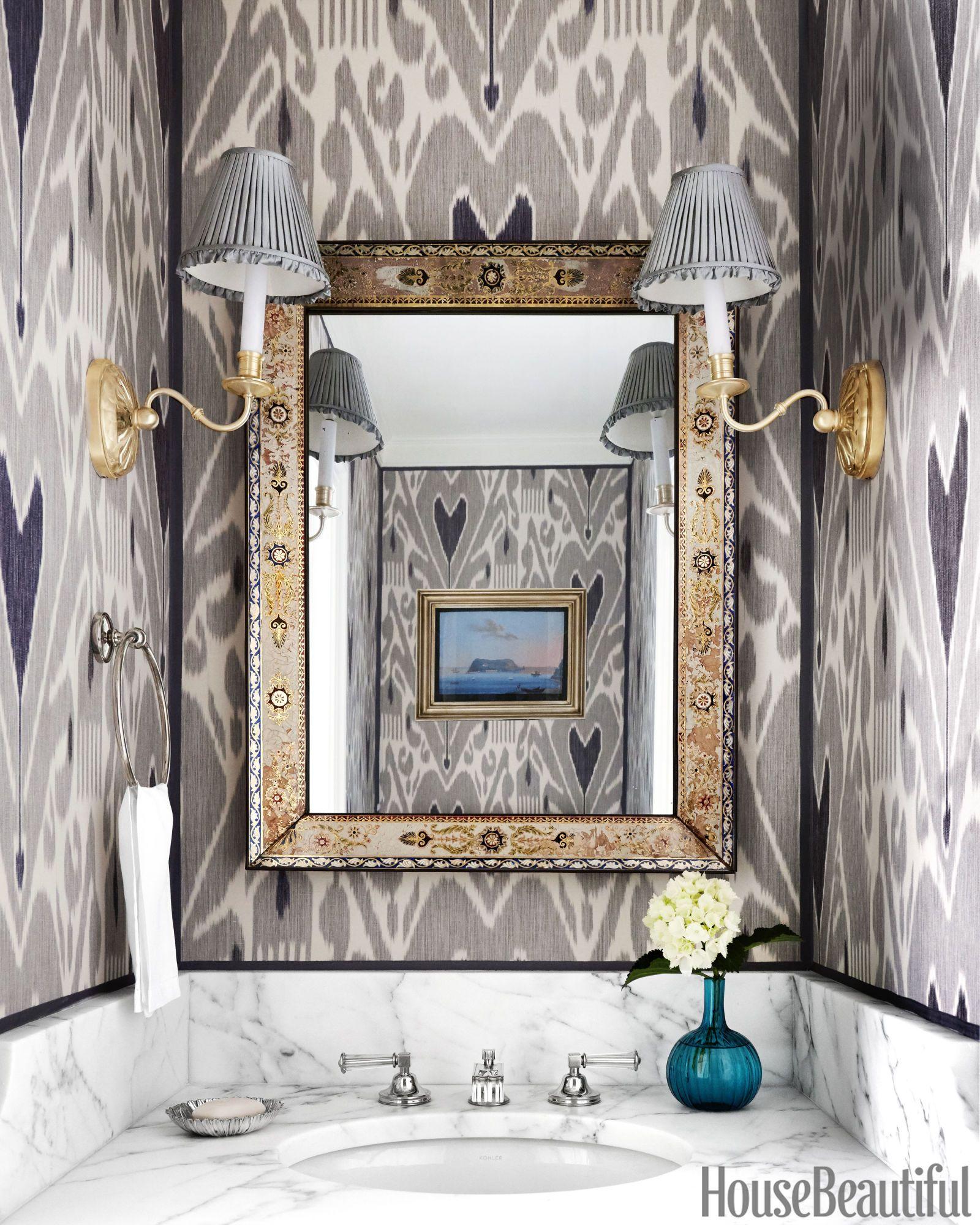 40 Gorgeous Powder Rooms With Extra Pow
