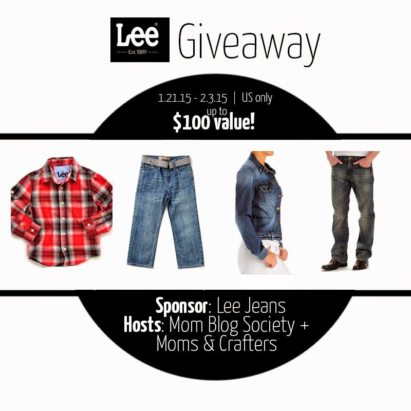 Parenting Healthy: Lee Jeans Giveaway-Ends 2/3