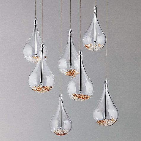 buy john lewis sebastian 7 light drop ceiling light online. Black Bedroom Furniture Sets. Home Design Ideas
