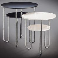 Pauli Blomstedt, side tables, 1100 and 1101, 1930
