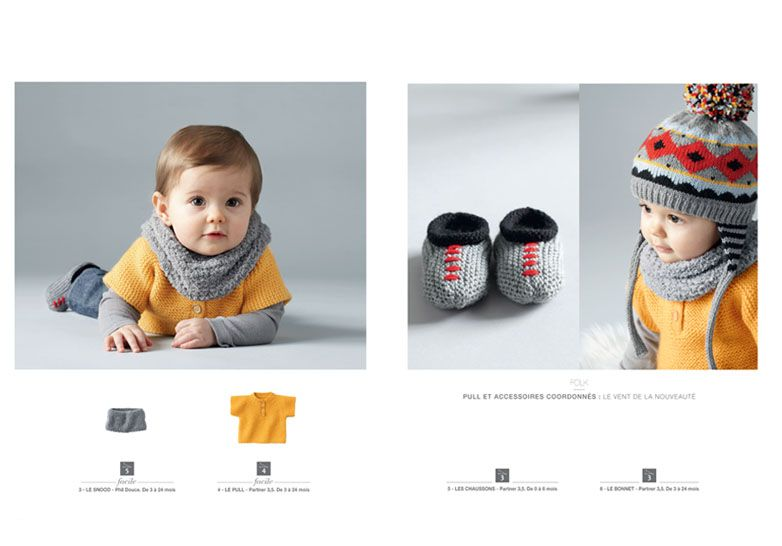 df5b73a14958 Catalogue layette n°93 - Catalogues Layette - Phildar   Baby ...