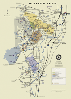 WV Wineries Map Poster