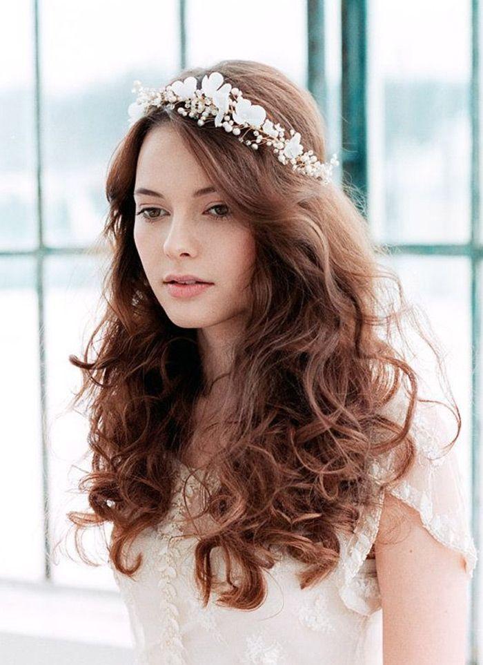 10 Diferentes Formas De Coroa De Flores Noiva Com Coroa De