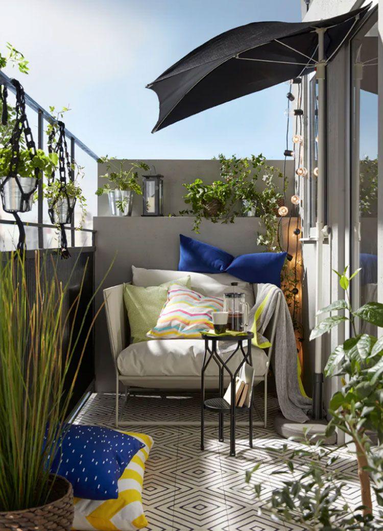 28 Idee per Arredare un Terrazzo Ikea Arredamento