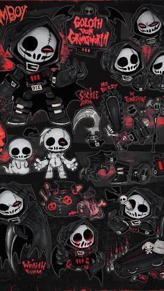 grim wallpaper by TazeFasulye - 4b - Free on ZEDGE™