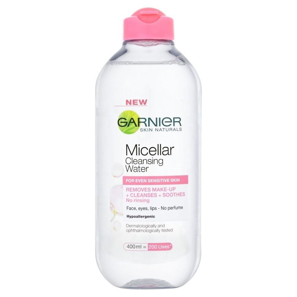 Amazon Com Garnier Micellar Cleansing Water 400ml Health Personal Care Micellar Cleansing Water Micellar Cleansing Garnier Micellar Water