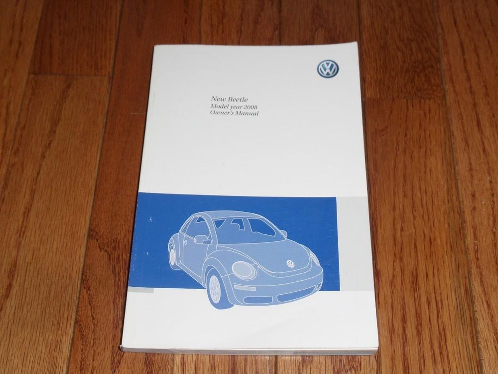 2008 volkswagen beetle owners manual book owners manuals pinterest 2008 volkswagen beetle owners manual book fandeluxe