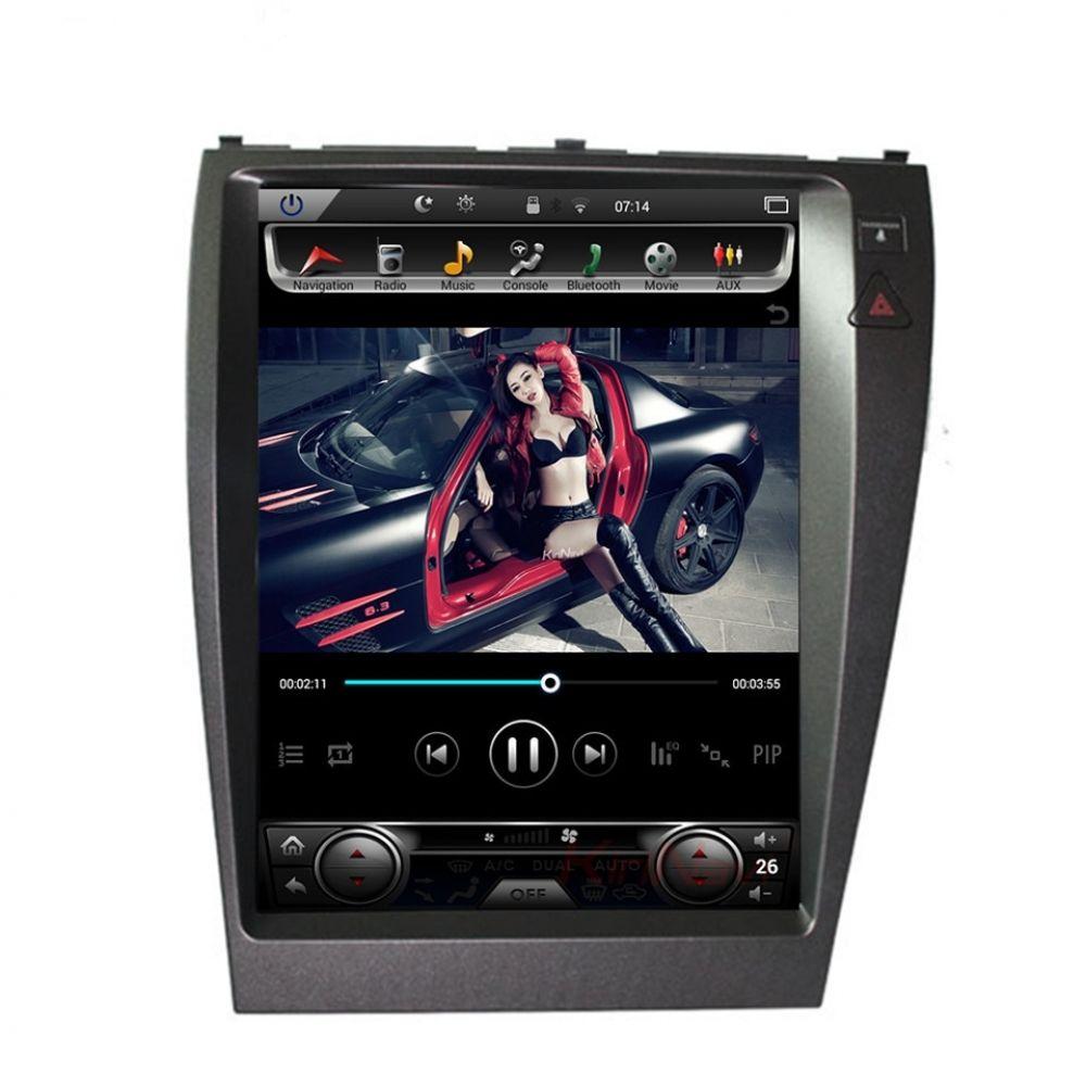 Tesla Vertical Style Android Car Radio For Lexus Es Es240 Es350 2006 12 Px6 Car Radio Car Gps Navigation