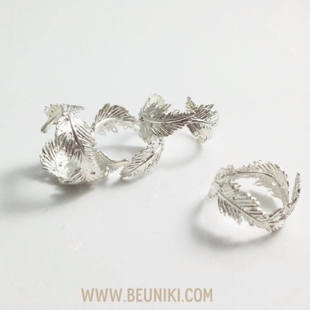 \(^o^)/ inspiration: Feather Ring