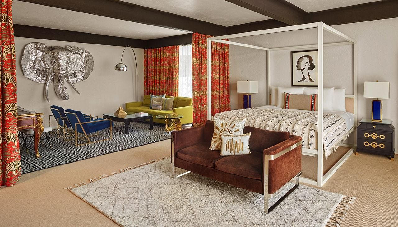 Gene Autry Room at Parker Palm Springs, designed by Jonathan Adler
