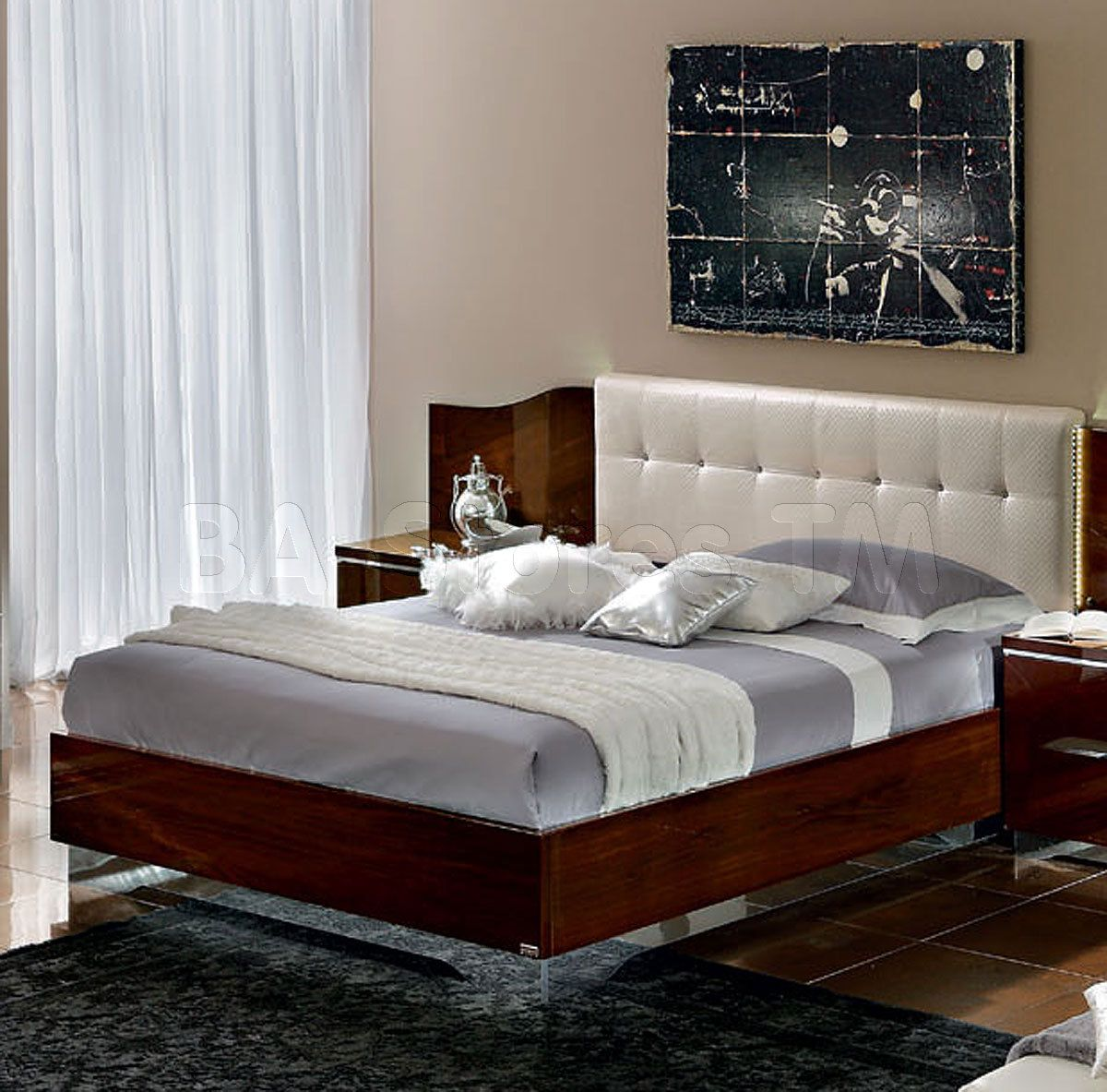 matrix maxi quadri bed in lights by esf beds by esf pinterest