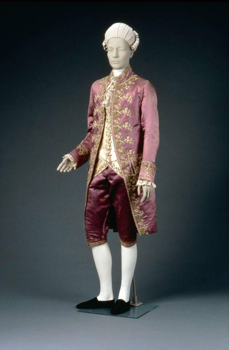 Formal Suit of Lavender   Purple Satin 07af453873ee8