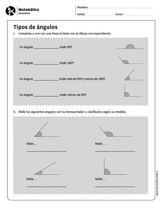 Tipos De Angulos Tipos De Angulos Matematicas Angulos Matematicas