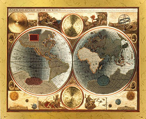 A new and accvrat map of the world vintage wall decor gol https a new and accvrat map of the world vintage wall decor gol https gumiabroncs Choice Image