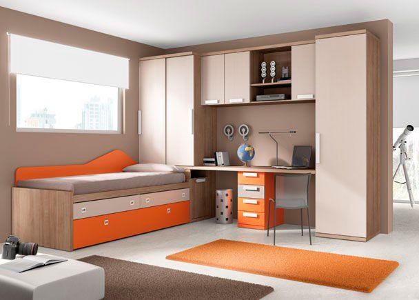 Dormitorio juvenil dormitorio juvenil 002 47 dormitorio for Armarios altos para dormitorio