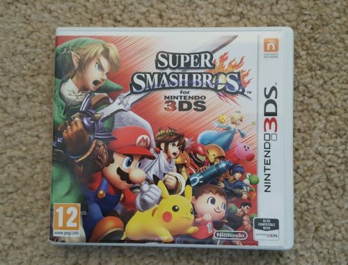 Super Smash Bros for Nintendo 3DS  Used https://t.co/YcL8k4cDaw https://t.co/DNHHGKiv6G