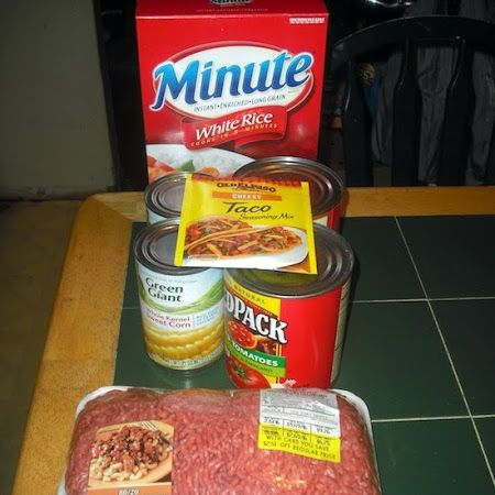 valmg's Gluten-free Taco Beef Rice Crockpot Casserole Recipe