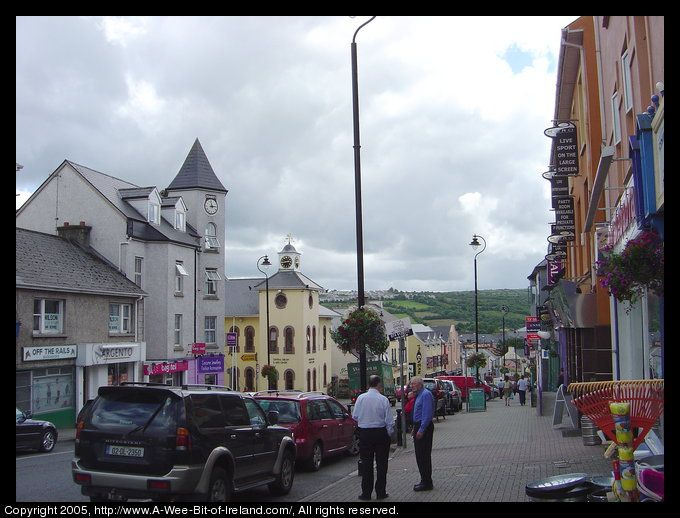 Letterkenny Co Donegal Ireland spent eight weeks here LOVE
