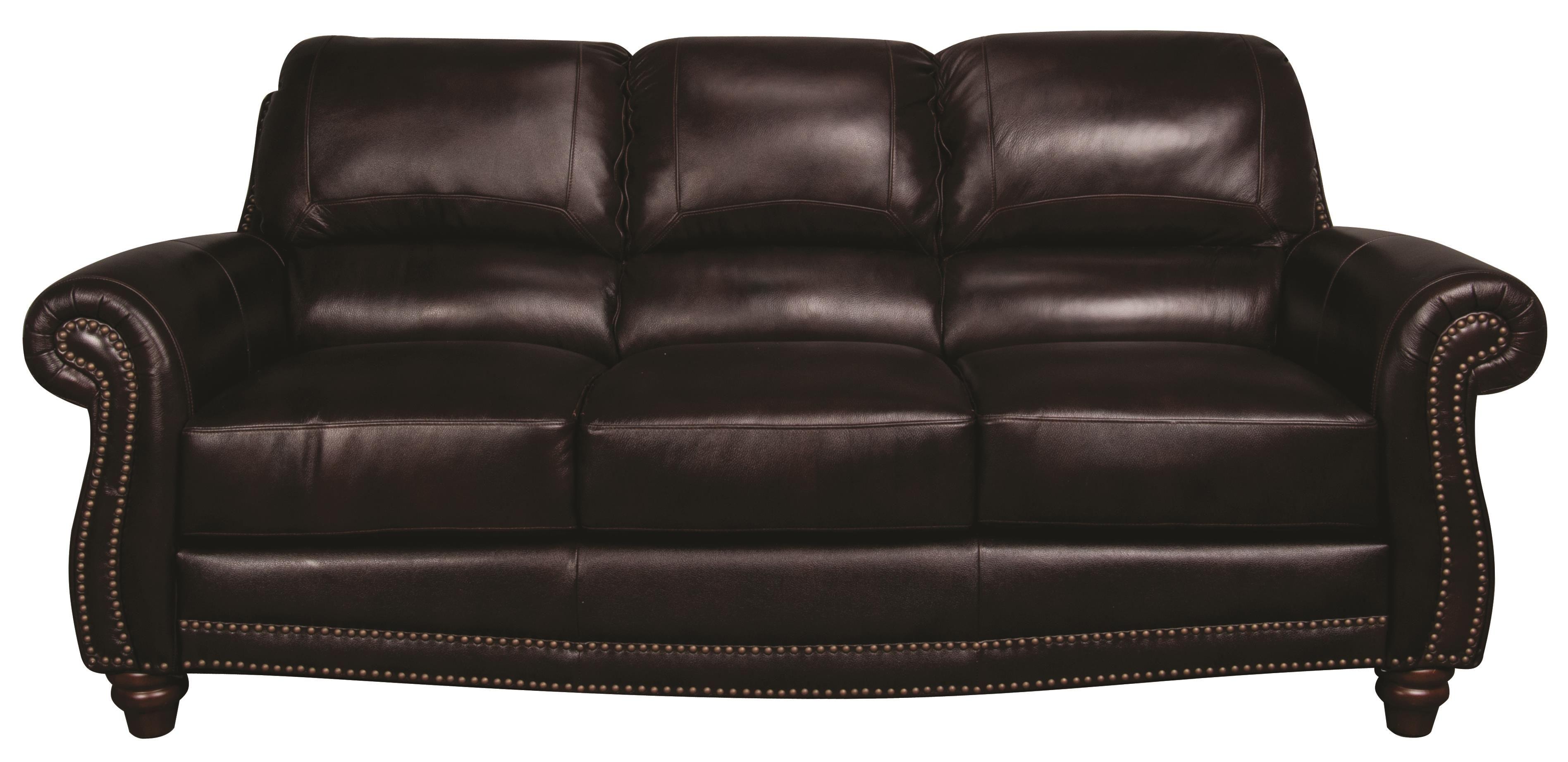 Amari Amari Leather Sofa by Morris Home Furnishings