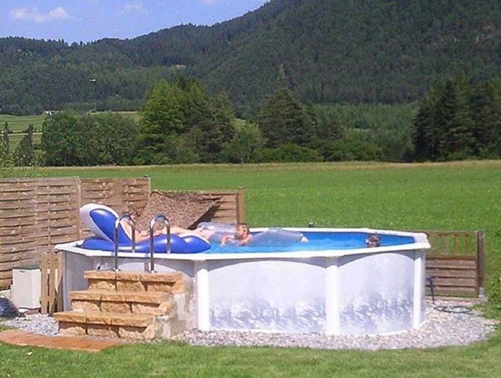 Elegant Slide for An Above Ground Pool
