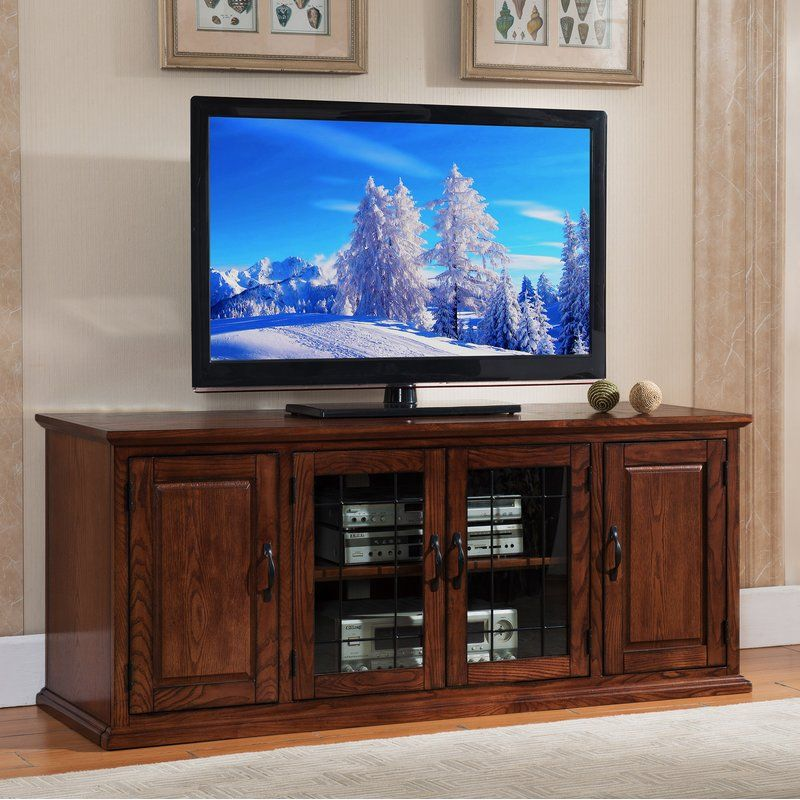 Huse Solid Wood Tv Stand For Tvs Up To 60 Solid Wood Tv Stand