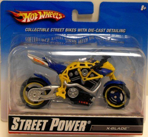 Hot Wheels Street Power Street Bikes X Blade By Mattel 9 99