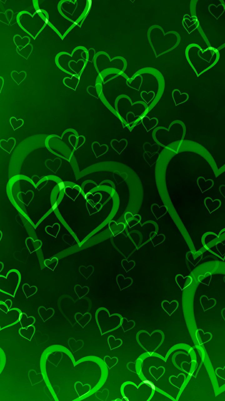 Green hearts heart s of love in 2019
