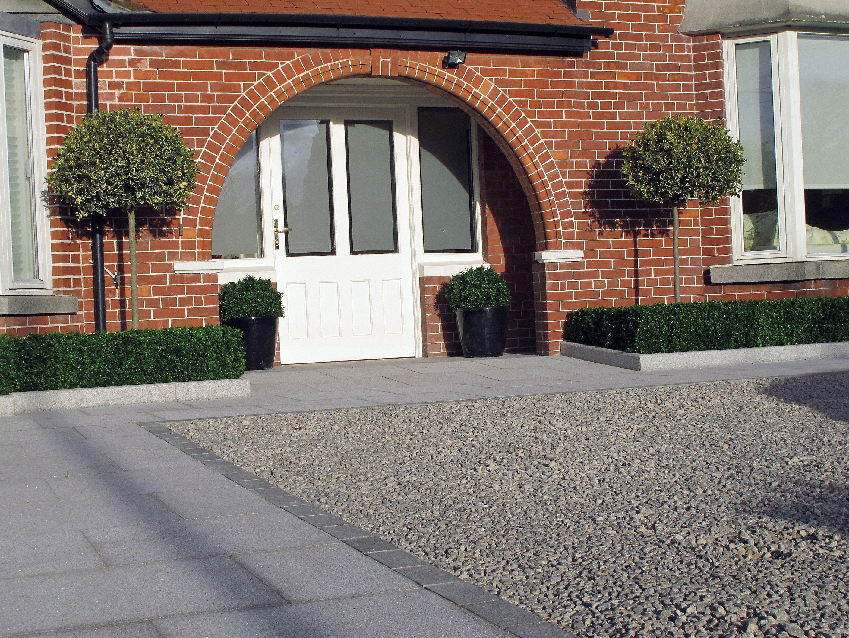 Exterior: Granite Driveway Design & Landscaping Ideas,Terenure