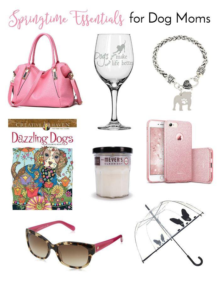 Springtime Essentials for Dog Moms | http://www.thelazypitbull.com/springtime-essentials-dog-moms/