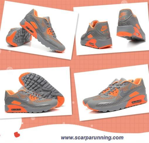 air max 90 ultra arancioni