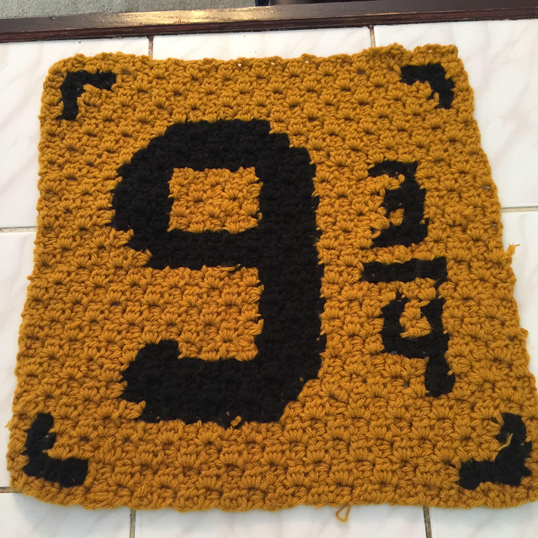 9 3/4 Harry Potter Blanket free pattern crochet http ...