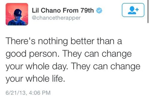quote chance the rapper and true image