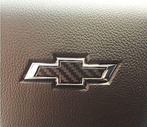 2015 2016 Chevrolet Tahoe Steering Wheel Bowtie Overlay Decal Color Flat Black Chevrolet Silverado Chevrolet Tahoe Silverado