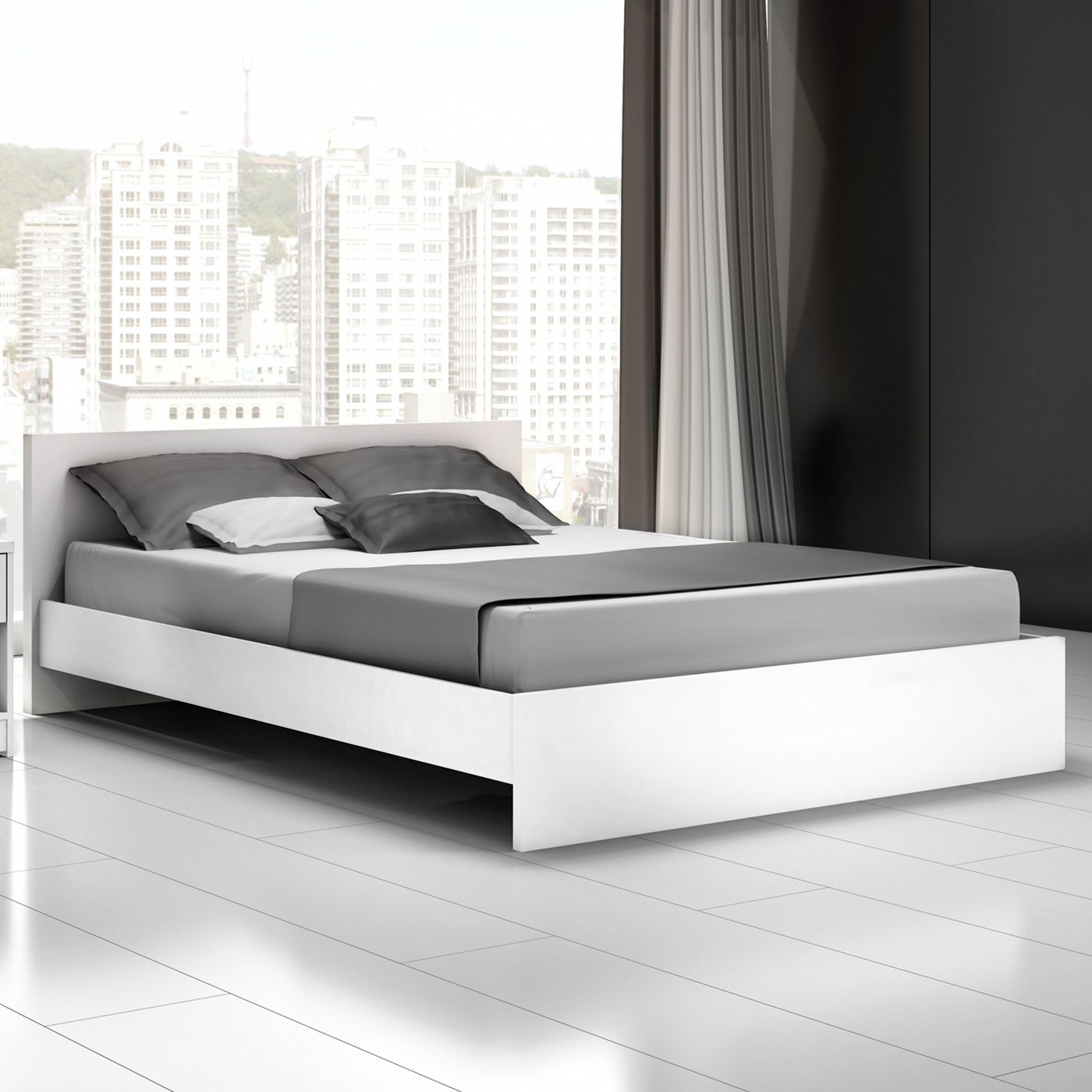 Shop Stellar Home Furniture S20 Euro Platform Bed & Headboard at