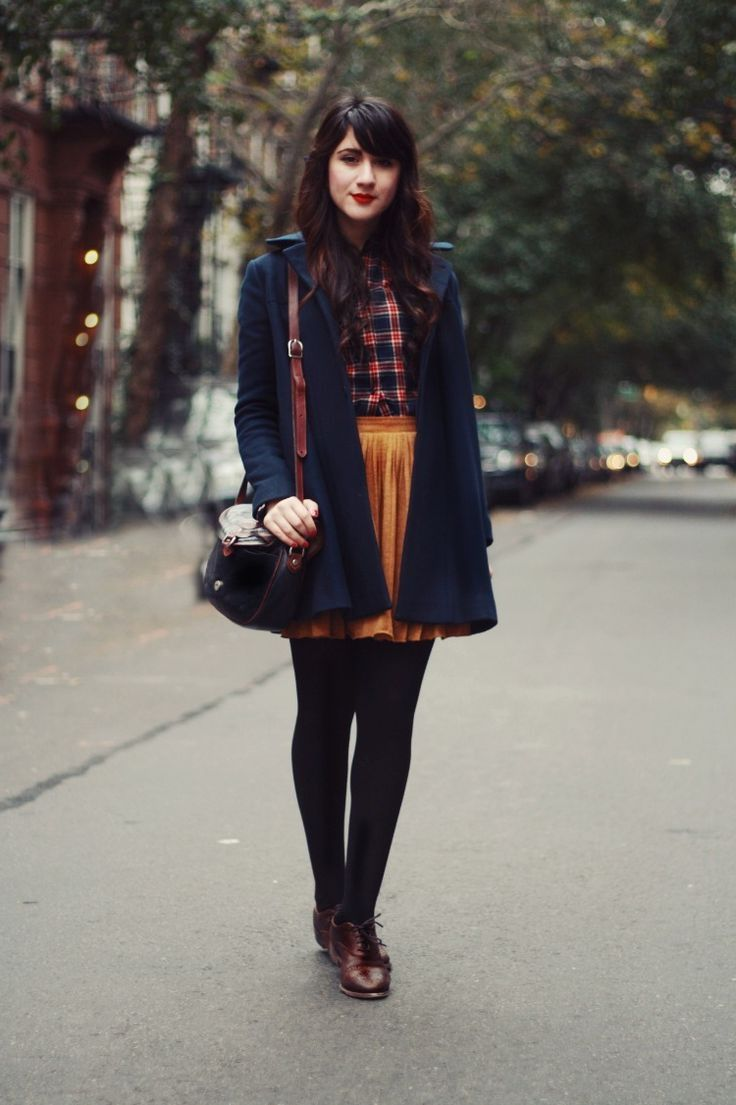 preppy girl style and geek chic outfit ideas  Женская