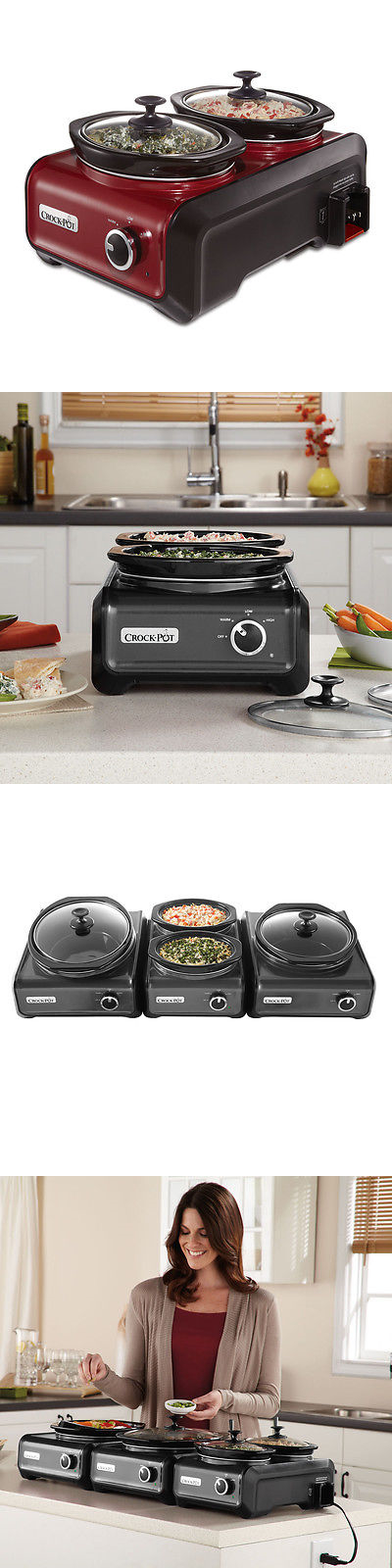 Chafing Dishes And Warming Trays 27552: Crock Pot Hook Up® Connectable  Entertaining System